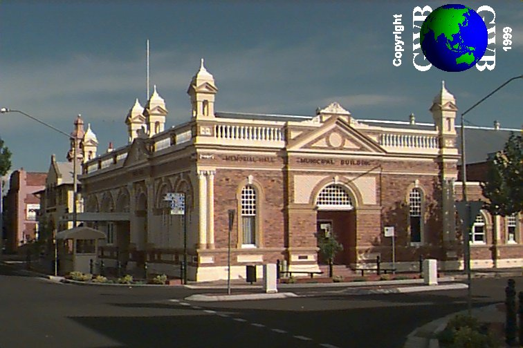 Inverell Australia  City new picture : Inverell at day and early morning: